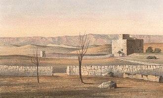 Elizabeth Anne Finn - Near Jerusalem, Evening