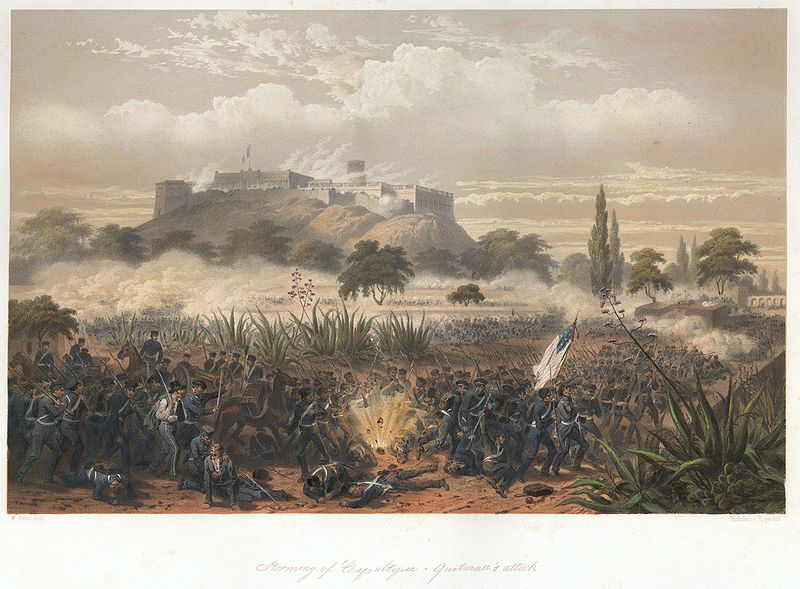 File:Nebel Mexican War 11 Chapultepec Quitman.jpg