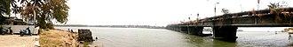 Neendakara - Image: Neendakara Bridge, 11 March 2016