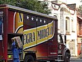 Negra Modelo Beer Truck and Worker - Condesa District - Mexico City - Mexico (6480194857).jpg