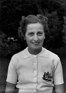 Nell Hall Hopman Australian tennis player