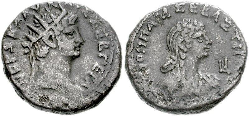 Nero and Poppaea Sabina