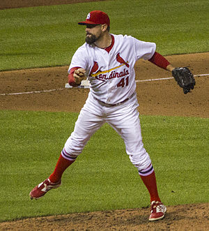 Pat Neshek - Neshek pitching for St.Louis.