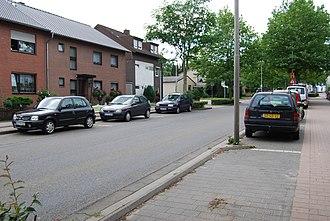 Kerkrade - Nieuwstraat/Neustraße in 2009