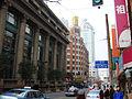 New Asia Hotel, Shanghai From Sichuan Rd. Bridge.jpg