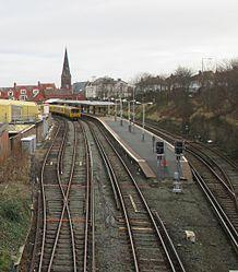 New Brighton railway station from Portland Street (cropped).jpg