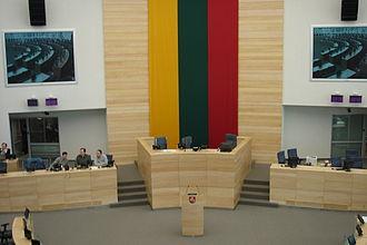 Seimas Palace - Image: New Lithuanian Parliament Hall