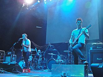 New Medicine - New Medicine performing live at the Carnival of Madness tour in 2012 at the Laredo Energy Arena