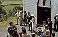 New Zealand country wedding, Wakefield, Nelson, 1978 01.jpg
