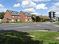 New houses on Newtown Road - geograph.org.uk - 857121.jpg