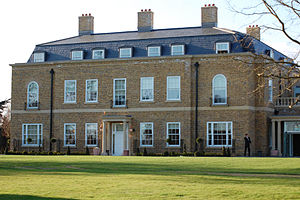 Orsett Hall - The rebuilt Orsett Hall in a similar style to the original
