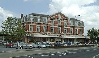 Newton Abbot railway station Railway station in Devon, England