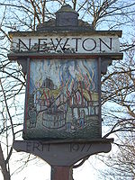 Newton village sign.JPG