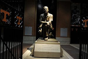 Robert Neyland - Statue of Robert Neyland on display at Neyland Stadium