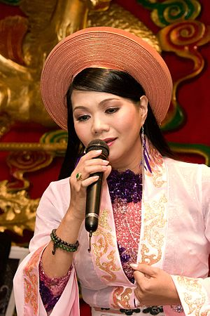 My Fair Princess - Cải lương actress Ngọc Huyền, who portrayed a character based on Xiaoyanzi.