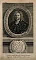 Nicholas Saunderson (Sanderson). Line engraving, 1754, after Wellcome V0005224.jpg