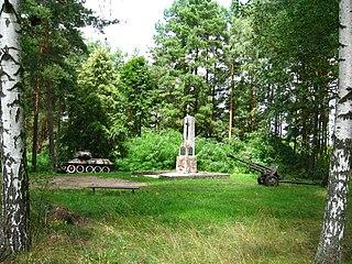 Niewodnica Kościelna Village in Podlaskie Voivodeship, Poland