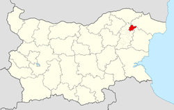 Nikola Kozlevo Municipality within Bulgaria and Shumen Province.