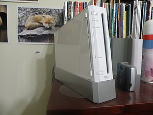 "A Nintendo ""Wii"" Video Game console."