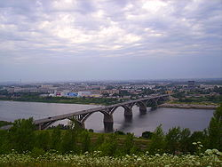 Bridge above Oka River