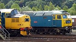No.37175 W.S. Sellar (Class 37) & no.47270 Swift (Class 47) (7754541366).jpg