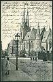 Norddeutsche Papier-Industrie PC 0279 Hannover Lutherkirche Bildseite 1906 Blick in die Heisenstraße.jpg