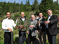 Nordic Council ministers planting forest in Åsen, Levanger.jpg