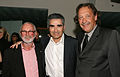 Norman Jewison, Eugene Levy and Slawko Klymkiw.jpg