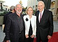 """Norman Jewison, Eve Marie Saint and Carl Reiner at """"A Tribute to Norman Jewison"""" at LACMA in Los Angeles on April 16, 2009. Photo by George Pimentel. (48198893346).jpg"""