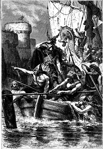 Siege of Paris (885–886) - The barques of the Vikings