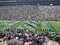 Northwestern vs. Michigan football 2012 04 (Northwestern band).jpg
