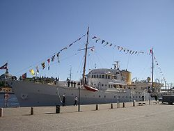 Norwegian Royal Yacht Norge in Stockholm september 2005.jpg
