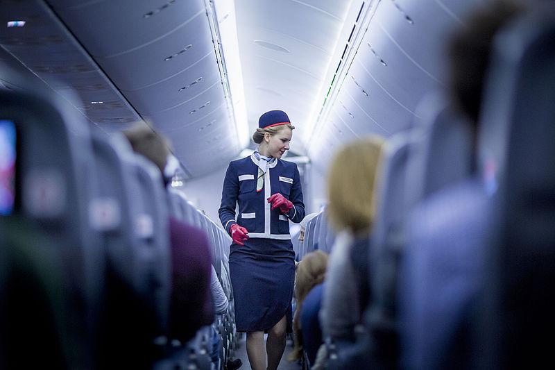 File:Norwegian flight attendant.jpg
