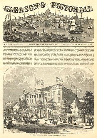Charles Fenerty - Nova Scotia Industrial Exhibition of 1854