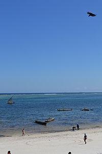 Nyali Beach from the Reef Hotel during high tide in Mombasa, Kenya 50.jpg