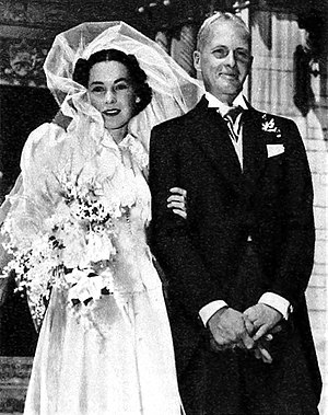 Maureen O'Sullivan - Wedding of Maureen O'Sullivan and John Farrow (1936)