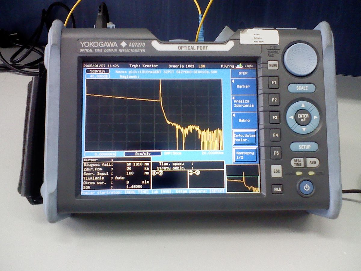 the optical time domain reflectometer otdr Introduction the optical time domain reflectometer (otdr) is an excellent and mature technology for locating breaks and other anomalies in fiber-optic links.