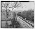 OVERALL SETTING, LOOKING NORTH - Marlow Road Bridge, Spanning CSX Railroad on Marlow Road, Clinton, Anderson County, TN HAER TN-31-1.tif