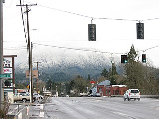 Oakridge, Oregon City in Oregon, United States