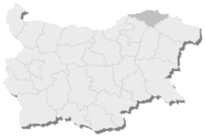 20th MMC – Silistra -  Map of Bulgaria, 20th MMC – Silistra is highlighted