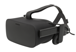 Oculus Rift virtual reality headset by Oculus VR