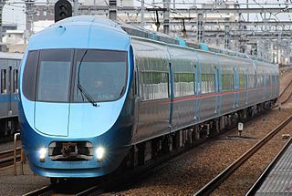 Odakyu 60000 series MSE Electric multiple unit of Odakyu Electric Railway in Japan
