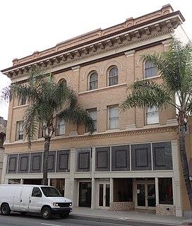 Odd Fellows Hall (Santa Ana, California) United States historic place