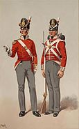 Officer and a private 1812 40th