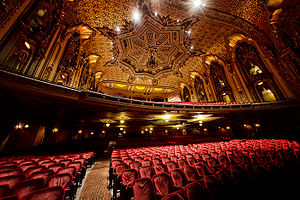Ohio Theatre (Columbus, Ohio) - View from stage left