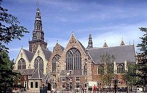 Jan Pieterszoon Sweelinck - Oude Kerk, the Amsterdam church where Sweelinck worked almost his entire life.