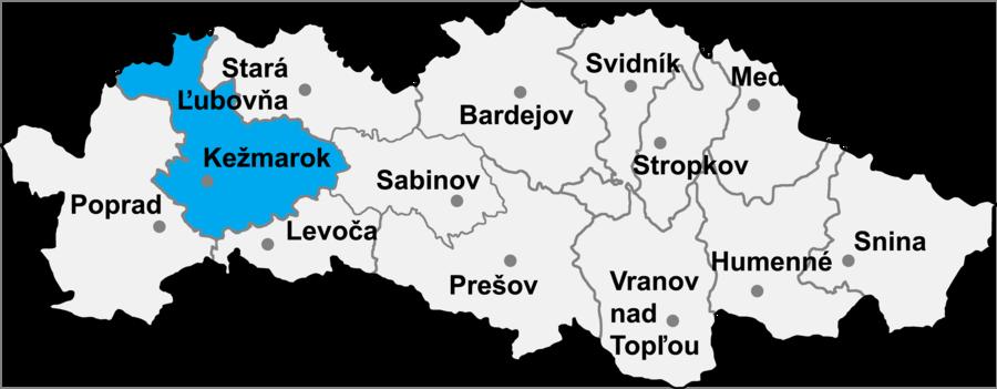 Zálesie, Kežmarok District