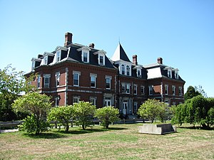 Massachusetts Correctional Institution – Concord - The Old Concord Reformatory Building at MCI-Concord