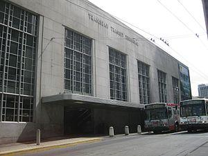 Salesforce Transit Center - The Transbay Terminal in 2010