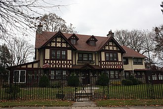 La Mott, Pennsylvania - Image: Old York Rd 7402, La Mott PA